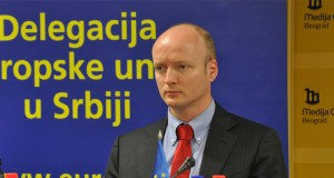 Frejk Janmat, šef Sektora za evropske integracije pri delegaciji EU u Srbiji/Foto: mc.rs