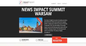 News Impact Summit 2015