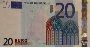 Nova novčanica od 20 evra