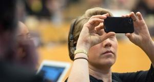 Selfi u Evropskom parlamentu/Foto: euractiv.com