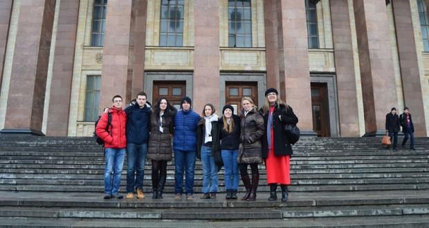 Ekipa Matematičke gimnazije na Međuregionalnom hemijskom turniru u Moskvi/Foto: mg.edu.rs