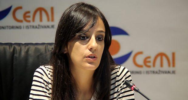 Ana Selić, direktorkaOeljenja za istraživanje javnih politika u CeMI-ju/Foto: prcentar.me